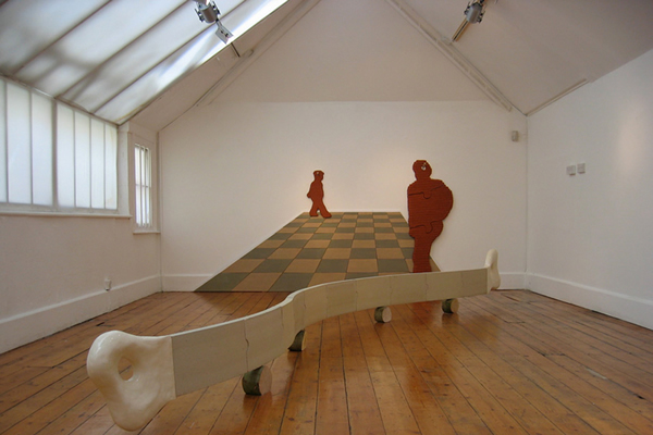 Pushmi-Pullyu and Room with a View, installation at RBS Gallery, 2008